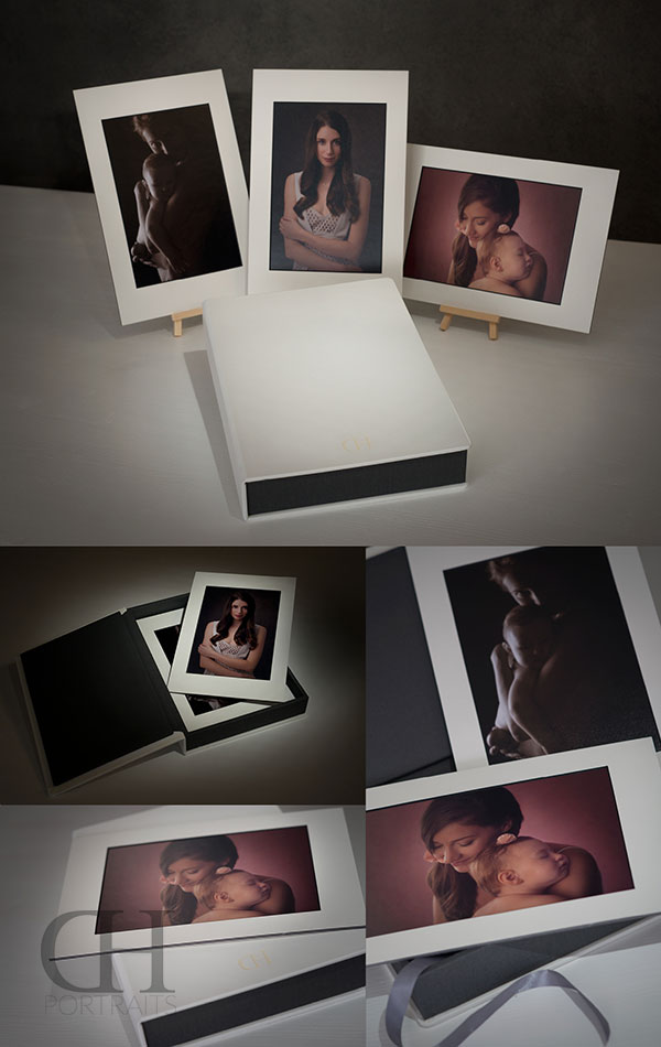 Folio Boxes & Mats - Exclusive High Class Print Products - Dan Hostettler Portraits