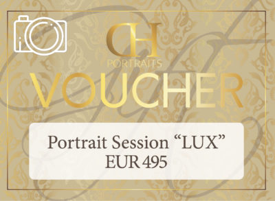 Gift Card - EUR - Shooting 'Lux' - Website - Dan Hostettler Portraits Prague